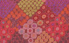 Tile Flowers - Brown