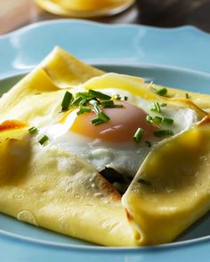 Savory Breakfast Crepe Pockets Recipe by Tasty