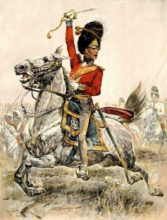 :: Keith Rocco : I'm going to assume this is the Scots Greys at Waterloo ::