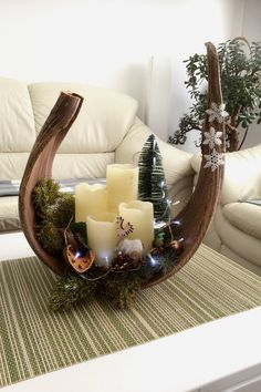 Anthony saved to AnthonyWeihnachten Deko Weihnachten – Anthony saved to Anthony Anthony saved to Anthony Christmas Advent Wreath, Christmas Candle Decorations, Christmas Arrangements, Christmas Home, Christmas Crafts, Xmas, Christmas Candles, Table Decorations, Diy Crafts To Do