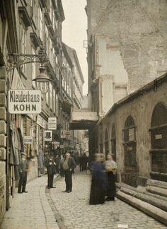 Vienna, Judengasse, 1913