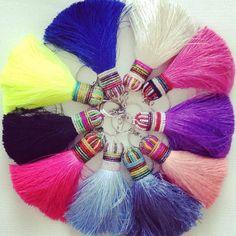 silk tassels from Thailand