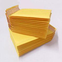 10 개/몫 (110*130 미리메터) 거품 우편물 패딩 포장 배송 가방 크래프트 거품 우편물 봉투 가방