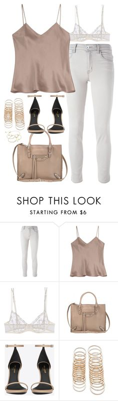 """Untitled#4506"" by fashionnfacts ❤ liked on Polyvore featuring Helmut Lang, Etro, La Perla, Balenciaga, Yves Saint Laurent, Forever 21 and ASOS"