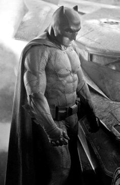 Zack Snyder director of the upcoming Superman vs Batman (as it's currently titled) debuts the new Batsuit!