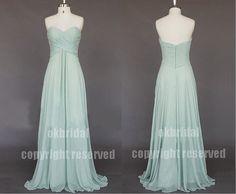 sage green bridesmaid dress wedding bridesmaid dress by okbridal, $119.99