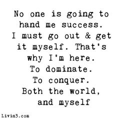 I am determined to succeed. I know I can pass this bar exam and am going to do it. I know I can do it, I want to do it, and I want the career opportunities I will get as a result of passing. I am determined to succeed.