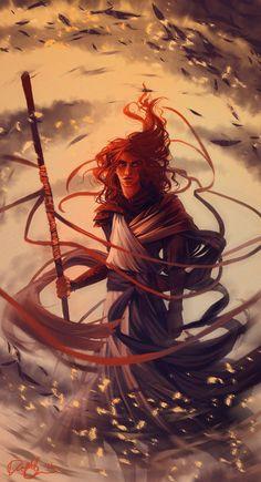"""adedrizils-shrine: """" Aethon's Wrath by LadyEru """""""