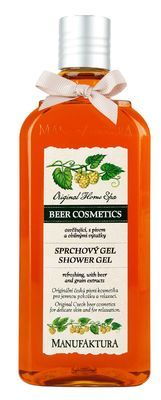 Refreshing Shower Gel with Beer and Grain Extracts
