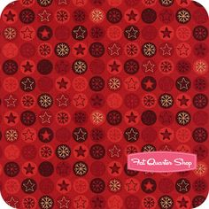 I would love a tree skirt or stocking made out of this Novelty Christmas fabric!