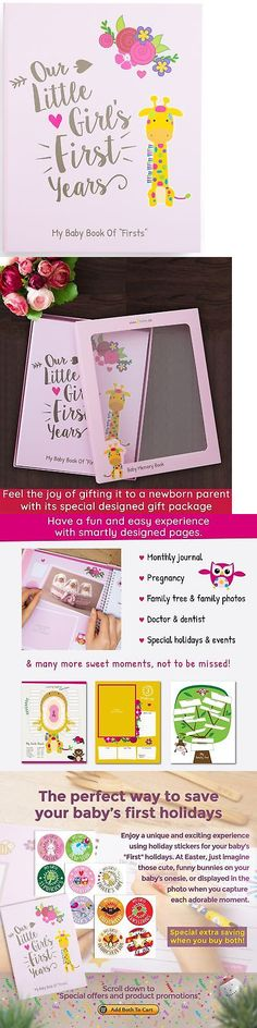 Keepsakes and Baby Announcements 117388: Ronica Memory Book For Baby Girl - Photo Album, Easy To Use Keepsake Scrapboo... -> BUY IT NOW ONLY: $40.98 on eBay!