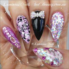 luminous nails - Google Search