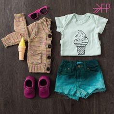 Love this kiddo style. Featuring Freshly Picked Moccs in Raspberry #kidsfashion