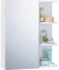 Photo Gallery For Photographers Modern Mirrored Bathroom Cabinet with Shelves White