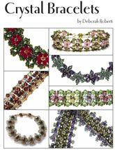 Crystal Bracelets E-Book by Deborah Roberti at Bead-Patterns.com