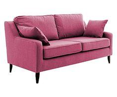 3-Sitzer-Sofa Bond, pink, B 180 cm