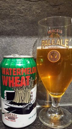 Tailgate Beer Watermelon Wheat. Watch the video beer review here www.youtube.com/realaleguide #CraftBeer #RealAle #Ale #Beer #Beerporn #TailgateBeer #TailgateWatermelonwheat #WatermelonWheat #Tailgate #AmericanCraftBeer #AmericanBeer