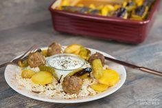 Kebab aus dem Ofen mit Kartoffeln / Patates Kebabi