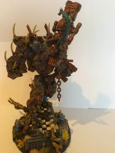 A couple of years ago I started my Nurgle Tau Warhammer 40k project, to join a Throne of Skulls tournament  in the UK, now it is finished.  Welcome to my little hobby blog where you will this and more projects. Also: look for me on Facebook: Thieme Hollaar Jr .