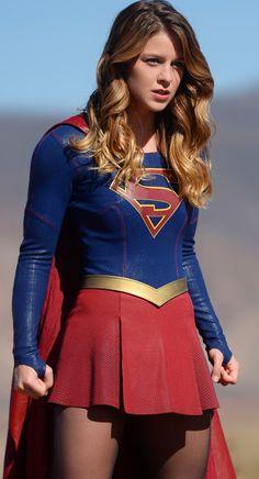 Supergirl's amazing supersuit. Love it!