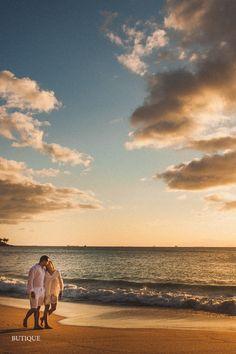 Ensaio Pré Casamento realizado na Praia