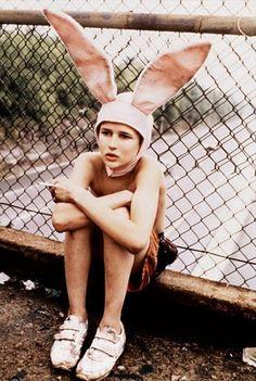 Fashionable bunny.