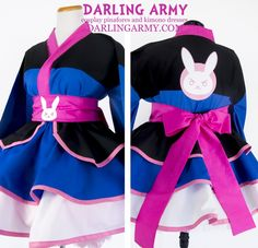 D.Va Overwatch Cosplay Kimono Dress | Darling Army