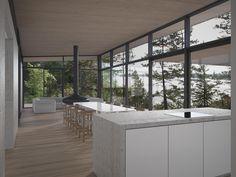 JOARC I ARCHITECTS • Holiday Villas • mökki, summerhouse, scandinavian home, finnish architecture, timber ceiling
