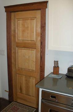 Solid Wood Door | D111 Solid   Wood Model | www.VintageDoors.com
