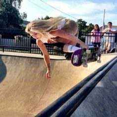 Riley Ryder Skateboard Chick