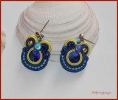 Árvácska - sujtás fülbevaló Diy Jewelry, Earrings, Fashion, Ear Rings, Moda, Stud Earrings, Fashion Styles, Fasion, Ear Jewelry