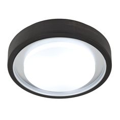Shop Style Selections 11.81-in W Oil Rubbed Bronze Ceiling Flush Mount Light at Lowes.com