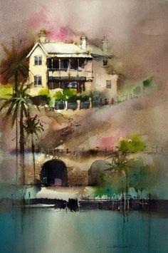 John Lovett watercolor