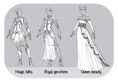 Accepted payment : POINT ONLY Magic Lolita : DONE! Royal Gemtstone : DONE! Queen Beauty : DONE ! Special OTA rules : - For 200 pts in addition, you will receive a back view ( with some days d...