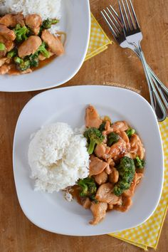 Chinese Chicken and Broccoli  This recipe is super simple but OH so YUMMY