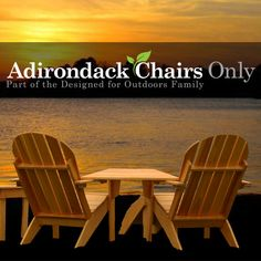 Unique Adirondack Chair & Furniture designs from across the country.