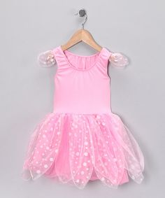 Take a look at this Light Pink & White Fairy Dress - Toddler & Girls by Princess Expressions on #zulily today!