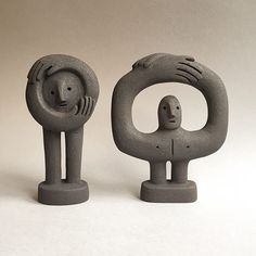 Two Figures . I'm excited to be taking part in the Century Graphics Art Fair, on the of September at… Two Figures . I'm excited to be taking part in the Century Graphics Art Fair, on the of September at… Sculptures Céramiques, Sculpture Art, Sculpture Ideas, Ceramic Sculptures, Abstract Sculpture, Bronze Sculpture, Ceramic Pottery, Ceramic Art, Ceramic Bowls