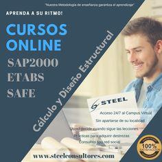 Cursos online SAP2000, ETABS, Ingeniería Sismorresistente #SAP2000 #Cursos Online #Cálculo Estructural #Sismorresistencia #Cursos de SAP2000 #ETABS