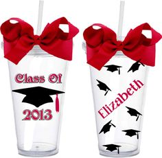 Class of 2013  Personalized  Acrylic Double by ZuZusPetalsGifts, $14.00 SO ADORABLE!!
