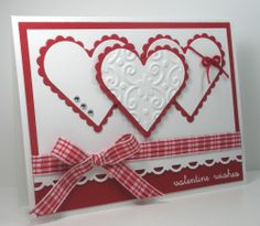 Think Outside the Box: Valentine Wishes Featured Stamper