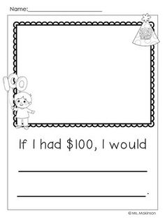 Day of School - Writing Prompts 100 Days Of School, School Holidays, School Fun, Poems About School, 100s Day, 100 Day Celebration, Letter To Parents, Kindergarten Writing, Kindergarten Classroom