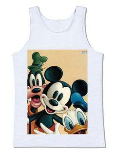 disney mickey mouse pluto pato donald personagens retrô vintage camiseta