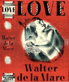 Love by Walter De La Mare by Faber Books, via Flickr