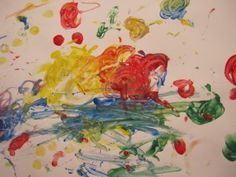 Painting with Toddlers... things to remember. Keep in mind, before you can move onto any painting, you might want to try letting your toddler explore the materials first. Exploring the process is part of developing the creative process.