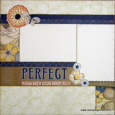 layout 2 left page - by Wendy Coffman using CTMH Pemberley paper