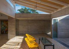 Tunel de concreto en casa colonial en Cuernavaca | Planos de Casas Gratis