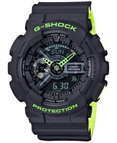 online shopping for Casio G-Shock Men's Analog-Digital Black & Yellow Resin Strap Watch from top store. See new offer for Casio G-Shock Men's Analog-Digital Black & Yellow Resin Strap Watch Casio G-shock, Casio Watch, Casio G Shock Watches, Sport Watches, Watches For Men, Wrist Watches, Men's Watches, Timex Watches, Dream Watches