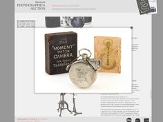 Lovely vintage and antique camera gear from Leica Nikon and others up for auction     - CNET  This beautiful Moment Watch Camera from 1910 might be yours for $4400 or more (3560 AU$5735 all converted from euros).                                              WestLicht Photographica Auction                                          I love vintage gear  cant afford it but like to look at the designs. And the catalog of products for an upcoming WestLicht Photographica Auction to celebrate its…