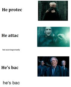 Image result for he protec he attac but most importantly